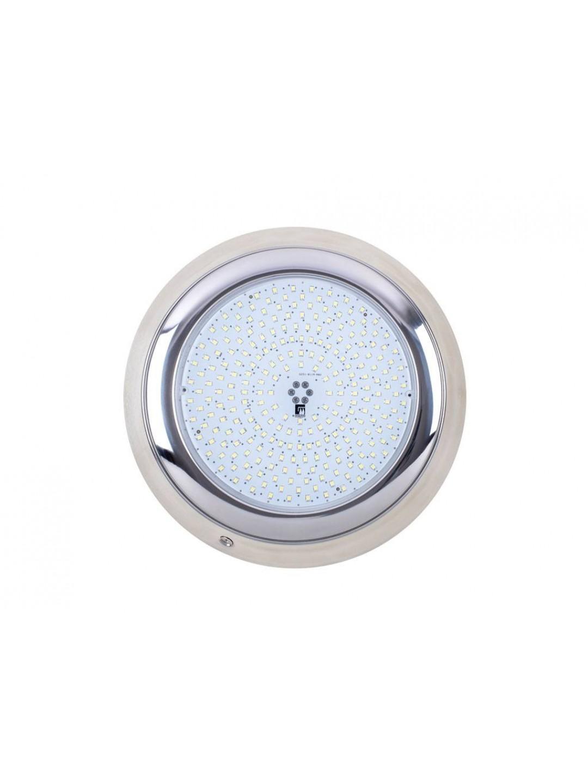 """252 LED Kırmızı - 35 W / 12 V - """"SlimLED-INOX"""" Havuz Sualtı Aydınlatma Lambası. Kovansız - Reçine Dolgulu, Tek Renkli"""