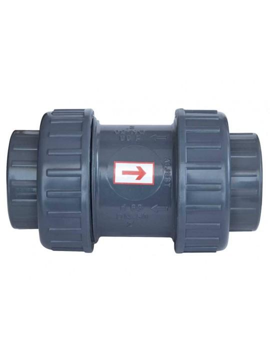 Ø 90 mm - GEMAŞ PVC Yaylı Çekvalf